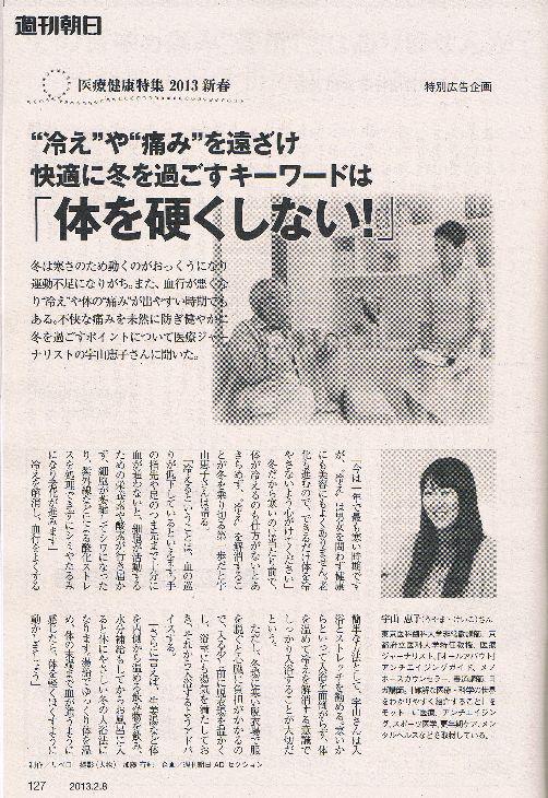 『週刊朝日』2013年2月8日号